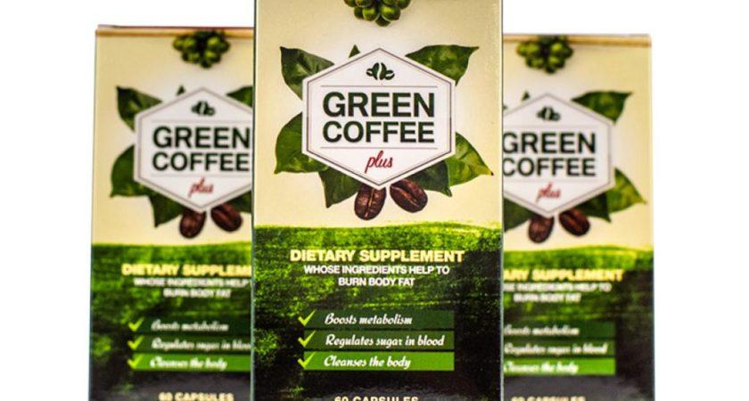 GREEN COFFEE PLUS – preparat z zieloną kawą na odchudzanie – opinie, cena, dawkowanie