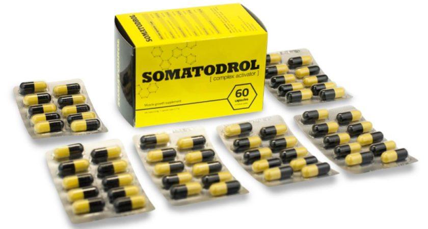 SOMATODROL – suplement wspomagający przyrost masy mięśniowej – opinie, cena, dawkowanie, skład